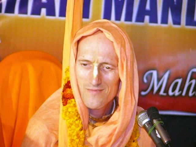 Bhakti Vikasa Swami Chanting Hare Krishna