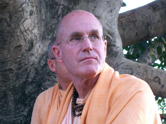Indradumna Swami Chanting Hare Krishna