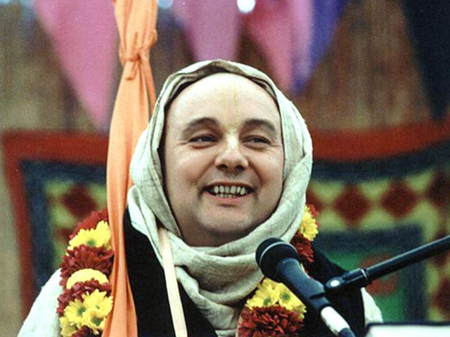 Suhotra Swami Chanting Hare Krishna