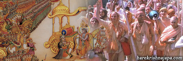 In This Age, Krsna Appears In His Name In Order To Annihilate The Demons And Protect The Devotees