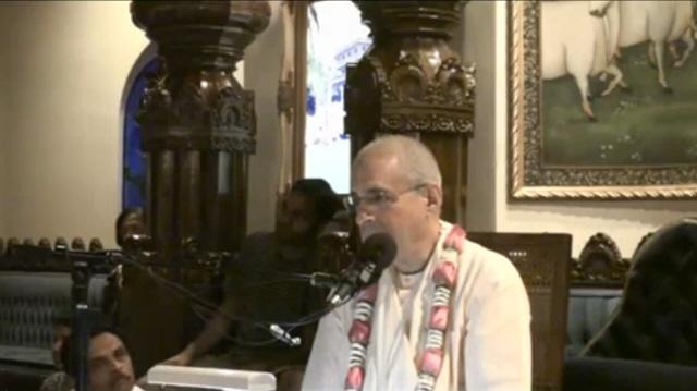 Giriraj Swami – Sunday Feast on Japa, Dallas Texas, 2008