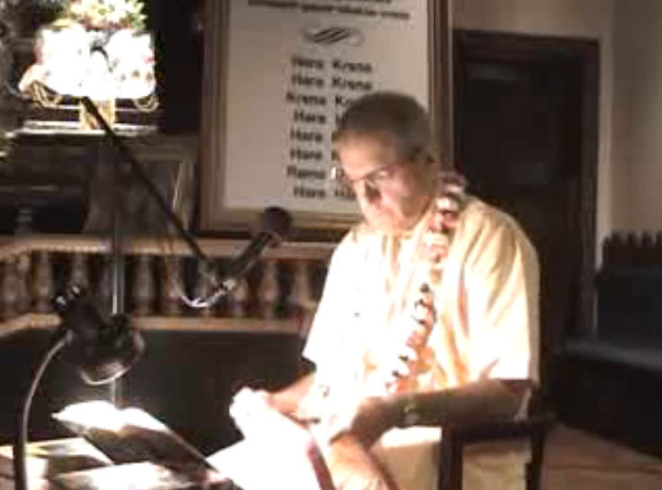 Giriraj Swami Lecture on Chanting Part 1 of 2