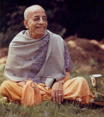 Srila Prabhupada Chanting Hare Krishna Mahamantra