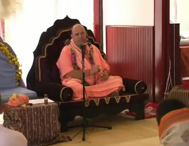 Jayapataka Swami Japa Workshop Serbian Camp 2007