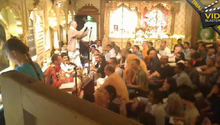 Sacinandana Swami Holyname Seminar London 2011