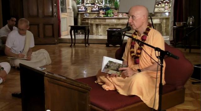 Candramauli Swami Japa Seminar ISKCON Boston 2010