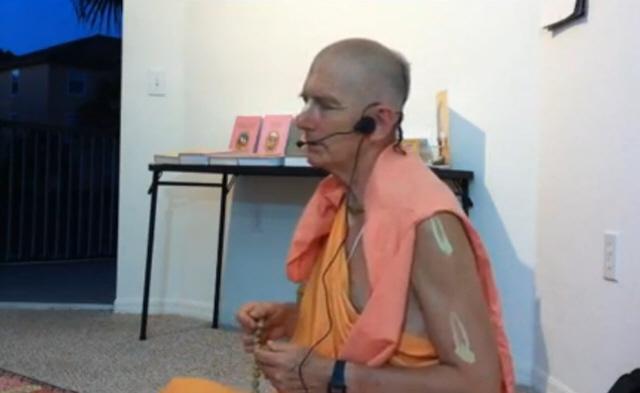 Danavir Swami Japa workshop Bhakti Yoga Satsang – Tampa