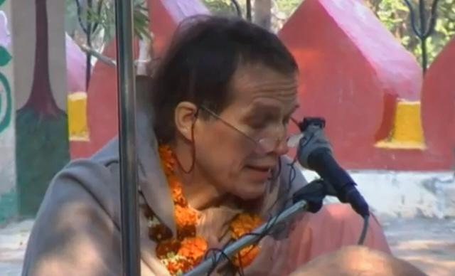 Sacinandana Swami Ter Kadamba, Vrindavana 2009