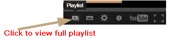 You Tube Playlist
