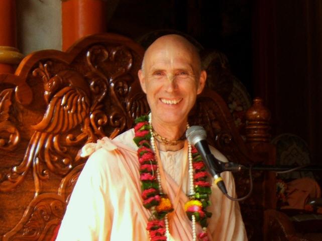 Smita Krishna Swami Chanting Hare Krishna