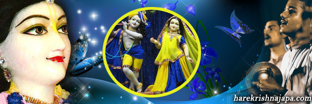 Hare Krishna during life - will cause Hare Krishna in the end