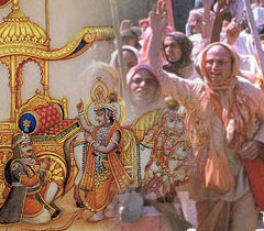 12 In this age, Krsna appears in his name in order to annihilate the demons and protect the devotees