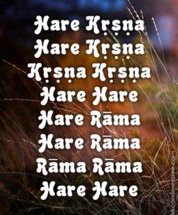 Hare Krishna Maha Mantra in Portuguese 009