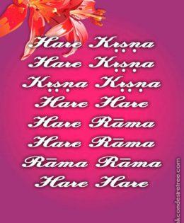 Hare Krishna Maha Mantra in Portuguese 020
