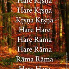 Hare Krishna Maha Mantra 088