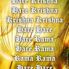 Hare Krishna Maha Mantra 231