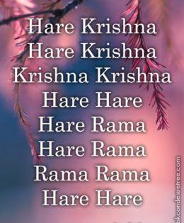 Hare Krishna Maha Mantra in French 021