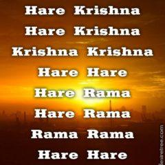 Hare Krishna Maha Mantra 398