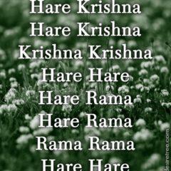 Hare Krishna Maha Mantra 406