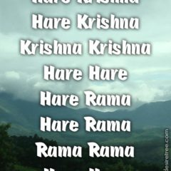 Hare Krishna Maha Mantra 417
