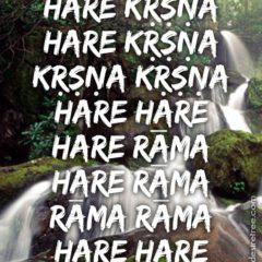 Hare Krishna Maha Mantra in Spanish 024