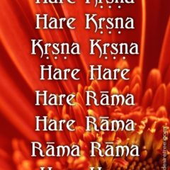 Hare Krishna Maha Mantra in Spanish 022