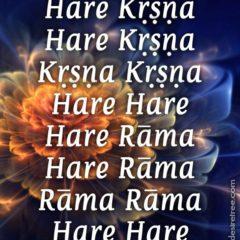 Hare Krishna Maha Mantra in Spanish 004