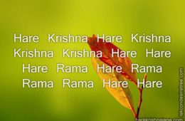 Hare Krishna Maha Mantra 046