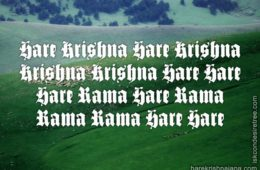 Hare Krishna Maha Mantra in Portuguese 019