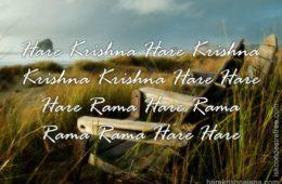 Hare Krishna Maha Mantra in French 016