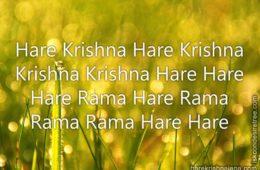 Hare Krishna Maha Mantra 147