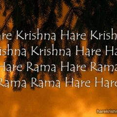 Hare Krishna Maha Mantra in French 027