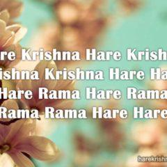 Hare Krishna Maha Mantra 312