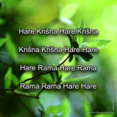 Hare Krishna Maha Mantra in Bosnian 008