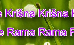 Hare Krishna Maha Mantra in Bosnian 001