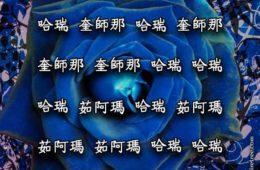 Hare Krishna Maha Mantra in Chinese 002