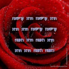 Hare Krishna Maha Mantra in Hebrew 002