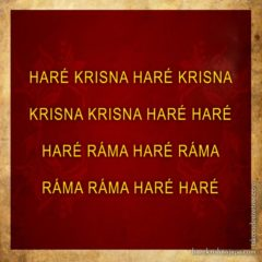Hare Krishna Maha Mantra in Hungarian 004