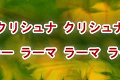 Hare Krishna Maha Mantra in Japanese 027