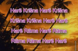 Hare Krishna Maha Mantra in Latvian 001