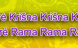 Hare Krishna Maha Mantra in Lithuanian 001