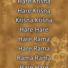 Hare Krishna Maha Mantra in Slovenian 002