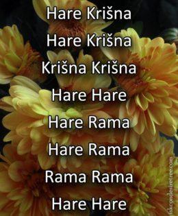 Hare Krishna Maha Mantra in Slovenian 004