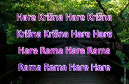 Hare Krishna Maha Mantra in Slovenian 001