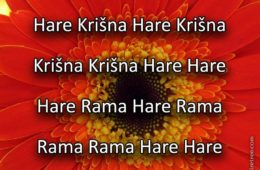 Hare Krishna Maha Mantra in Slovenian 006