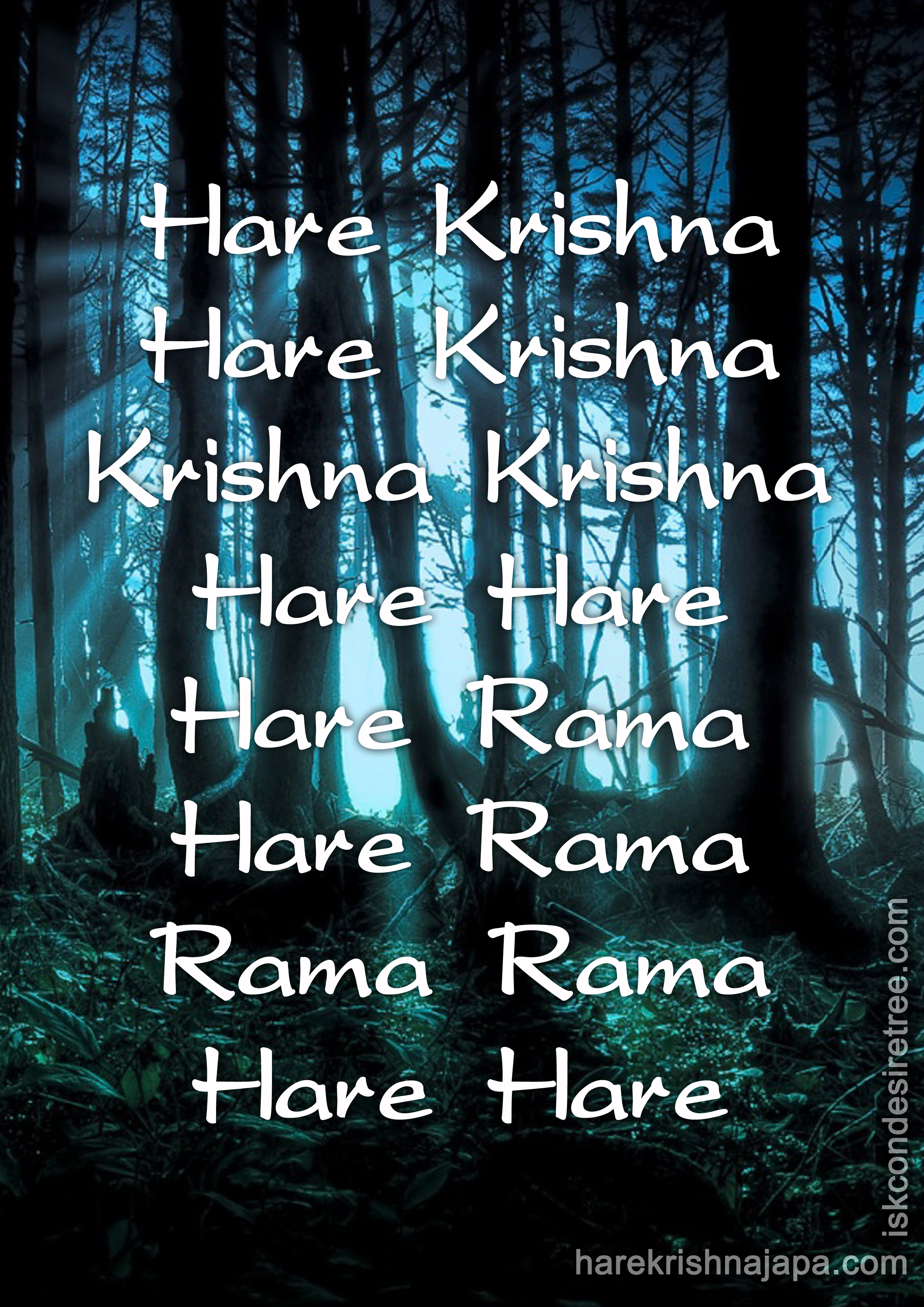 Chant Hare Krishna maha-mantra and make your life sublime
